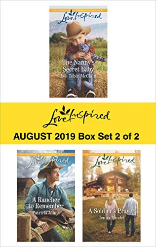 Harlequin Love Inspired August 2019 - Box Set 2 of 2: An Anthology Lee Tobin McClain, Patricia Johns, Jenna Mindel