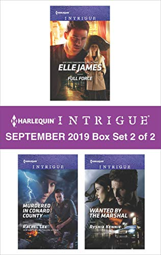 Harlequin Intrigue September 2019 - Box Set 2 of 2  Elle James, Rachel Lee, Ryshia Kennie