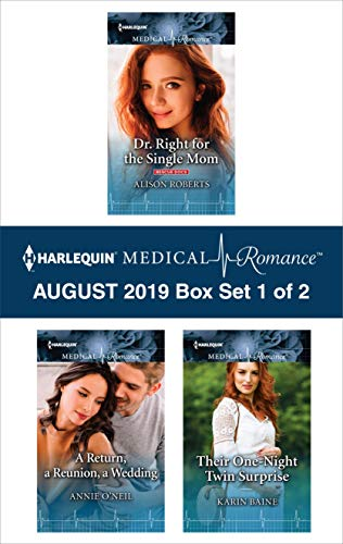 Harlequin Medical Romance August 2019 - Box Set 1 of 2  Alison Roberts, Annie O'Neil, Karin Baine