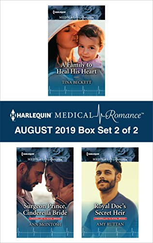 Harlequin Medical Romance August 2019 - Box Set 2 of 2 Tina Beckett, Ann McIntosh, Amy Ruttan