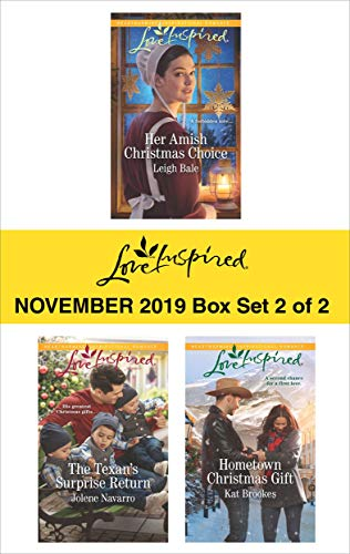 Harlequin Love Inspired November 2019 - Box Set 2 of 2: An Anthology  Leigh Bale, Jolene Navarro, Kat Brookes
