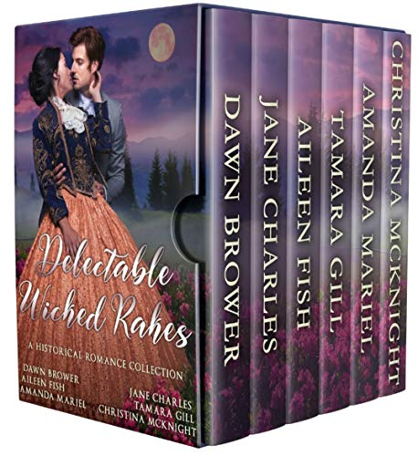 Delectable Wicked Rakes: A Historical Romance Collection  Dawn Brower , Jane Charles , et al