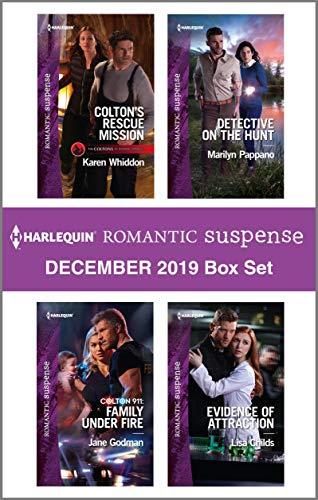 Harlequin Romantic Suspense December 2019 Box Set Karen Whiddon, Jane Godman, Marilyn Pappano, Lisa Childs