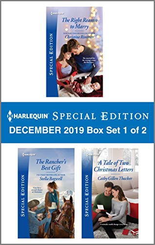 Harlequin Special Edition December 2019 - Box Set 1 of 2  Christine Rimmer, Stella Bagwell, Cathy Gillen Thacker