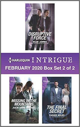 Harlequin Intrigue February 2020 - Box Set 2 of 2  Elle James, Julie Anne Lindsey, Cassie Miles