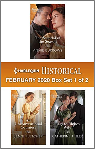 Harlequin Historical February 2020 - Box Set 1 of 2  Annie Burrows, Jenni Fletcher, et al.