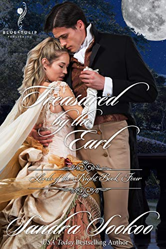 Treasured By the Earl (Lords of the Night Book 4) Sandra Sookoo