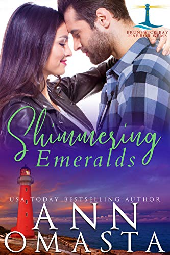 Shimmering Emeralds: An addictive small-town romance series (Brunswick Bay Harbor Gems Book 3)  Ann Omasta