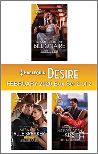 Harlequin Desire February 2020 - Box Set 2 of 2  Naima Simone , Joanne Rock, et al.