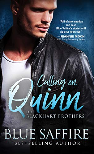 Calling on Quinn (The Blackhart Brothers Book 1)  Blue Saffire