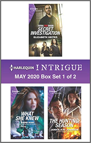 Harlequin Intrigue May 2020 - Box Set 1 of 2  Elizabeth Heiter , Barb Han , et al.