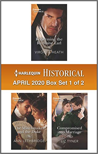 Harlequin Historical April 2020 - Box Set 1 of 2 Virginia Heath, Ann Lethbridge, et al.