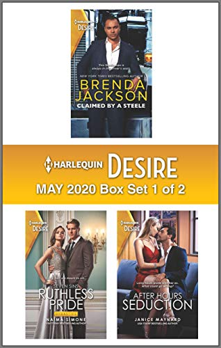 Harlequin Desire May 2020 - Box Set 1 of 2  Brenda Jackson , Naima Simone, et al.