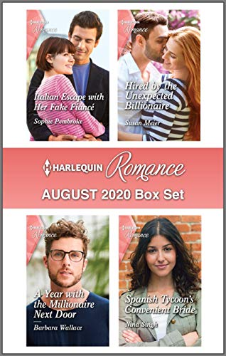 Harlequin Romance August 2020 Box Set Sophie Pembroke, Susan Meier, et al.