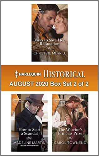Harlequin Historical August 2020 - Box Set 2 of 2 Christine Merrill, Madeline Martin, et al.