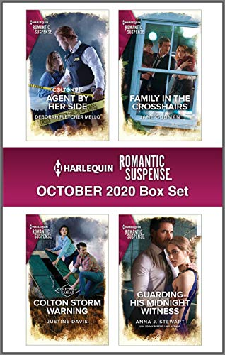 Harlequin Romantic Suspense October 2020 Box Set Deborah Fletcher Mello, Justine Davis, et al.