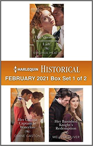 Harlequin Historical February 2021 - Box Set 1 of 2 Virginia Heath, Diane Gaston, et al.