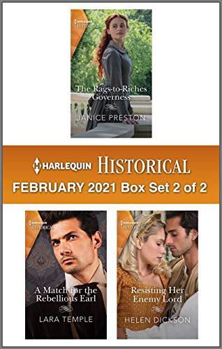 Harlequin Historical February 2021 - Box Set 2 of 2 Janice Preston, Lara Temple, et al.