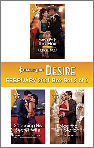 Harlequin Desire February 2021 - Box Set 2 of 2 Joanne Rock, Robin Covington, et al.