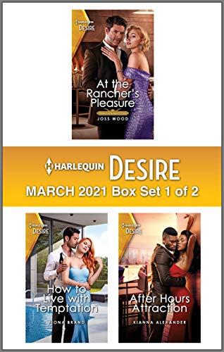 Harlequin Desire March 2021 - Box Set 1 of 2 Joss Wood, Fiona Brand , et al.