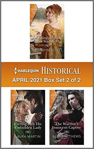 Harlequin Historical April 2021 - Box Set 2 of 2 Bronwyn Scott, Laura Martin, et al.