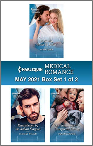 Harlequin Medical Romance May 2021 - Box Set 1 of 2 Annie O'Neil, Scarlet Wilson , et al.