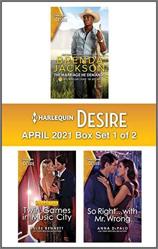 Harlequin Desire April 2021 - Box 1 of 2 Brenda Jackson, Jules Bennett , et al.