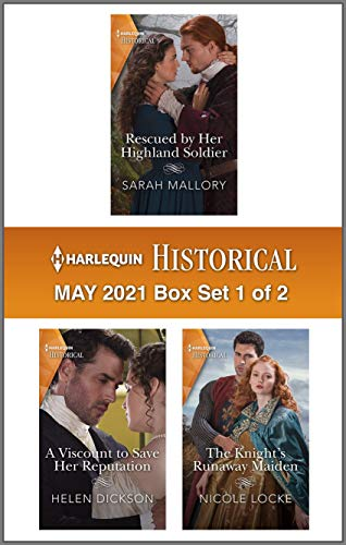 Harlequin Historical May 2021 - Box Set 1 of 2 Sarah Mallory, Helen Dickson, et al.