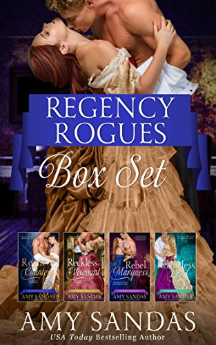 Regency Rogues Box Set Amy Sandas
