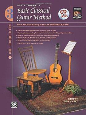 Scott Tennant's Basic Classical Guitar Method: Early Intermediate