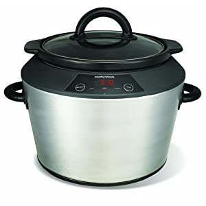 Morphy Richards 48724 Digital Slow Cooker Polished