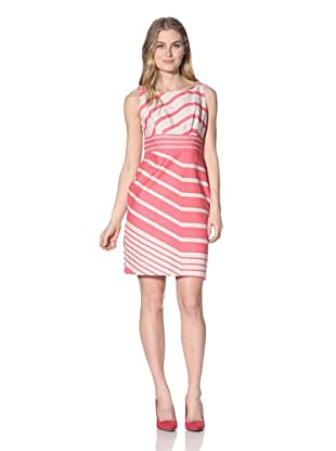 Taylor Women's Multi-Stripe Dress (Tulip/Tan)