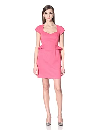 Donna Morgan Women's Raina Cap Sleeve Dress (Rose)