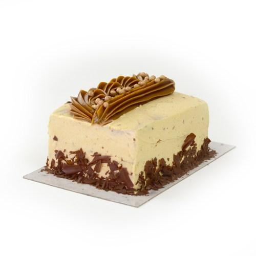 Mocha Buttercream Bar Cake