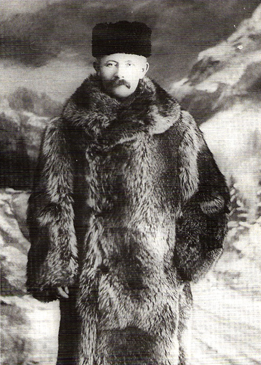 Gilbert Berg. Photo from Gudbrand Loken's book From Fjord to Frontier, photo courtesy of Lillian Loken.