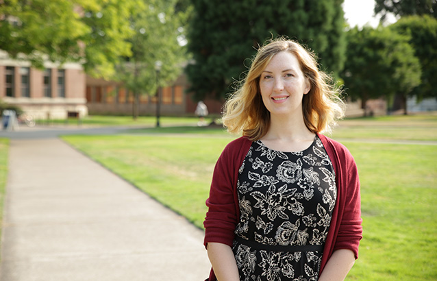 Amy Leeds, enrollment specialist, OSU Professional and Continuing Education (PACE)