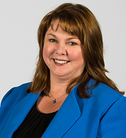 A headshot of Shannon Riggs, the executive director of academic programs and learning innovation of Oregon State University Ecampus