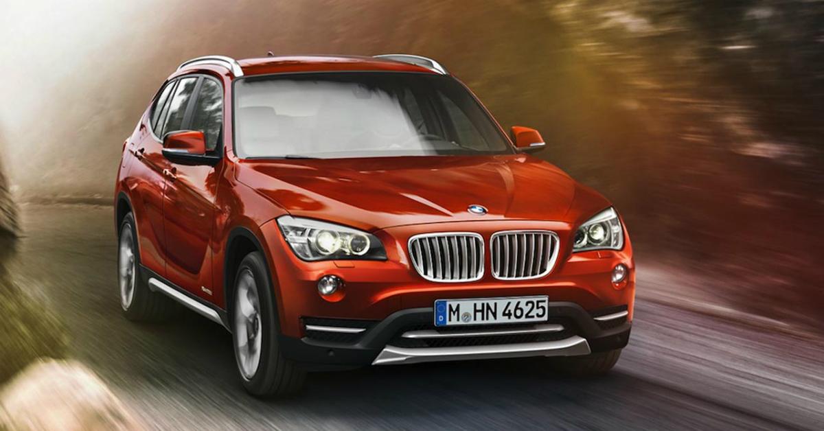2015 BMW X1 Red