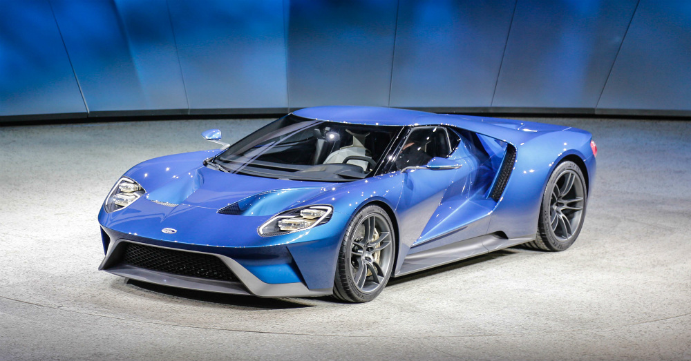 Ford GT Reveal