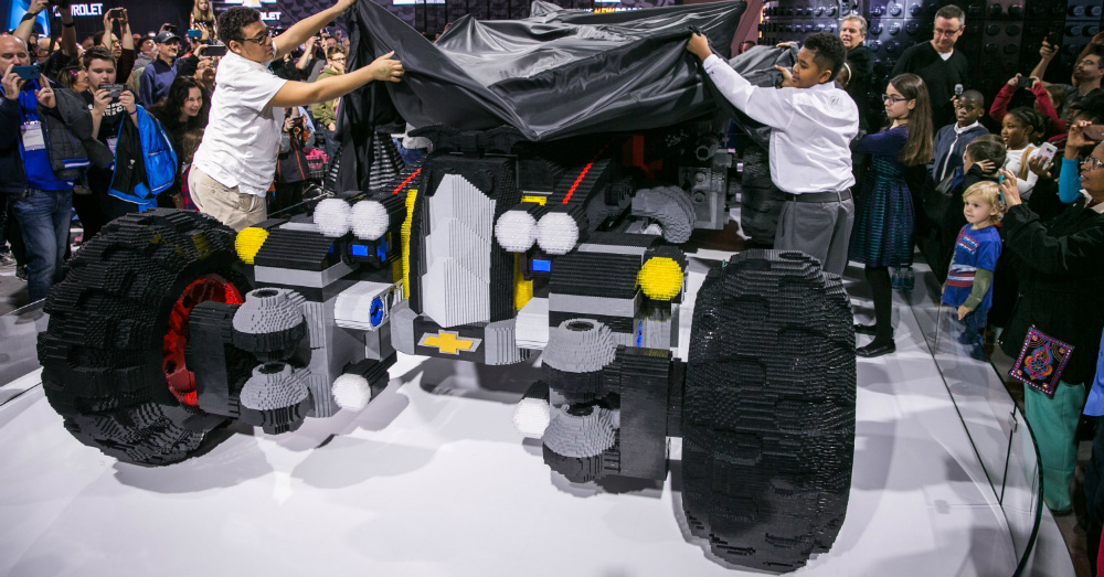 02.24.17 - Chevrolet Lego Batmobile