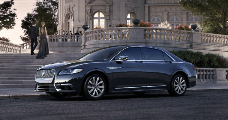 2017 Lincoln Continental: Back to the Top