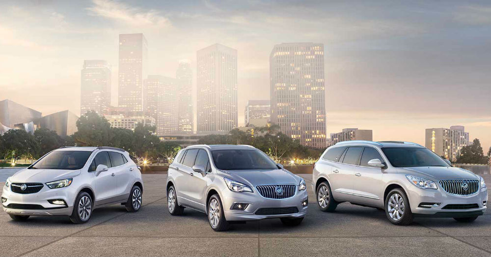 Both Buick and GMC area turning to the SUVs for the Drive