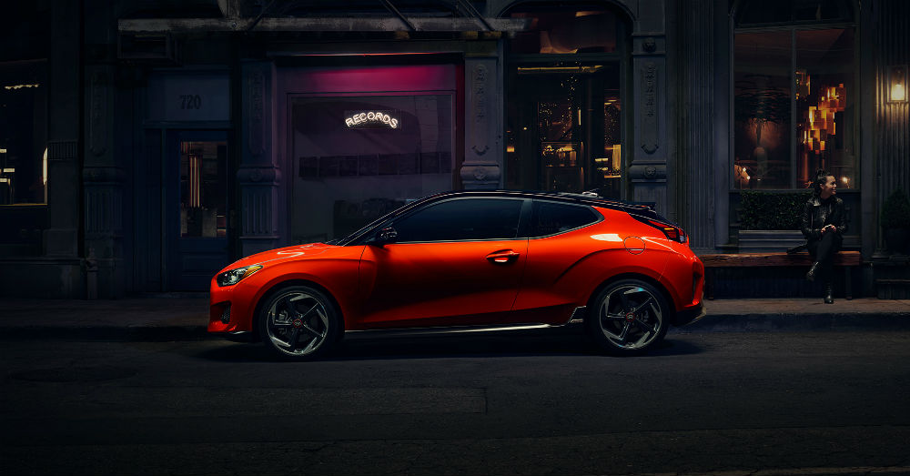 More N Sport for your drive in the Hyundai Veloster