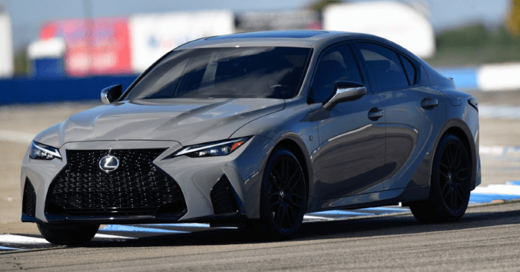A Special Version of the Lexus IS 500 F has Arrived
