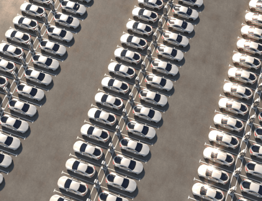 General Motors Facility Turned Into A Parking Lot