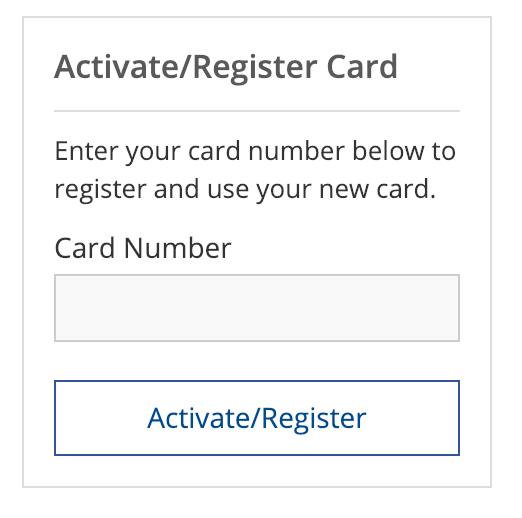 1. 激活/註冊正式卡