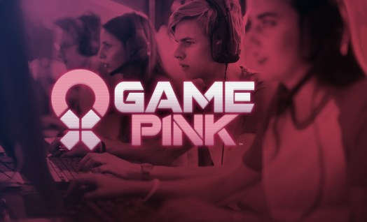 National Breast Cancer Foundation Game Pink Women playing computer games