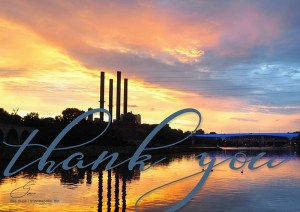 Smokestack Sunrise by Lisa Drew Photos Minneapolis