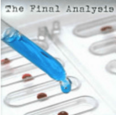 the final analysis