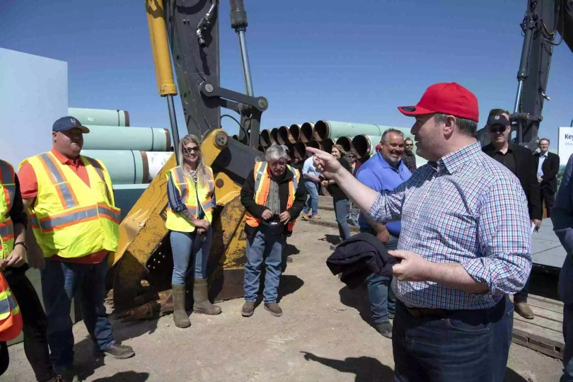 Keystone XL Pipeline Project Begins Putting Shovels In The ...